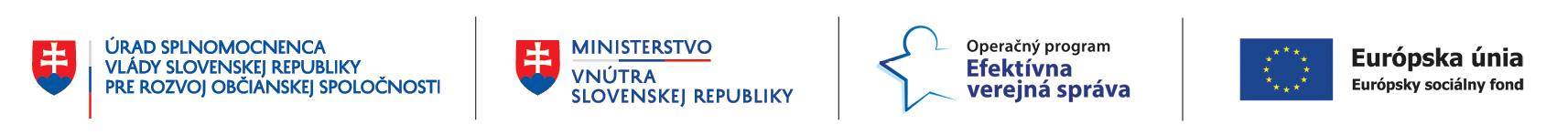 Tento projekt je financovaný z prostriedkov Európskeho sociálneho fondu cez OP Efektívna verejná správa.